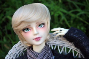 the horned moon with one bright star orangebabydolly bjd volks johanna