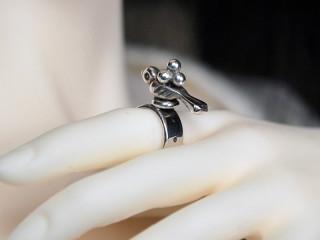 2066 Zuni bird ring