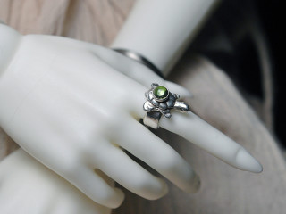 2067 Zuni turtle ring